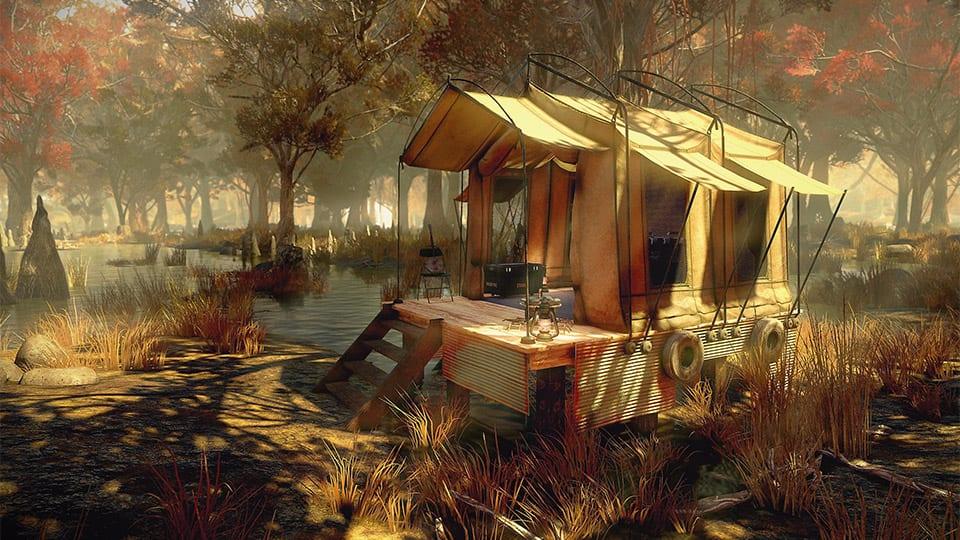 fallout 76 survival tent