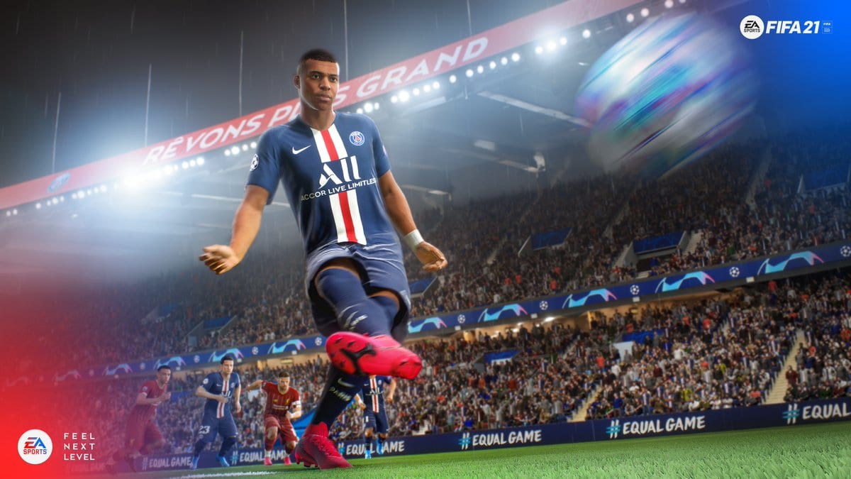 fifa 21, download size