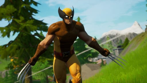 fortnite wolverine silver gold holo foil styles