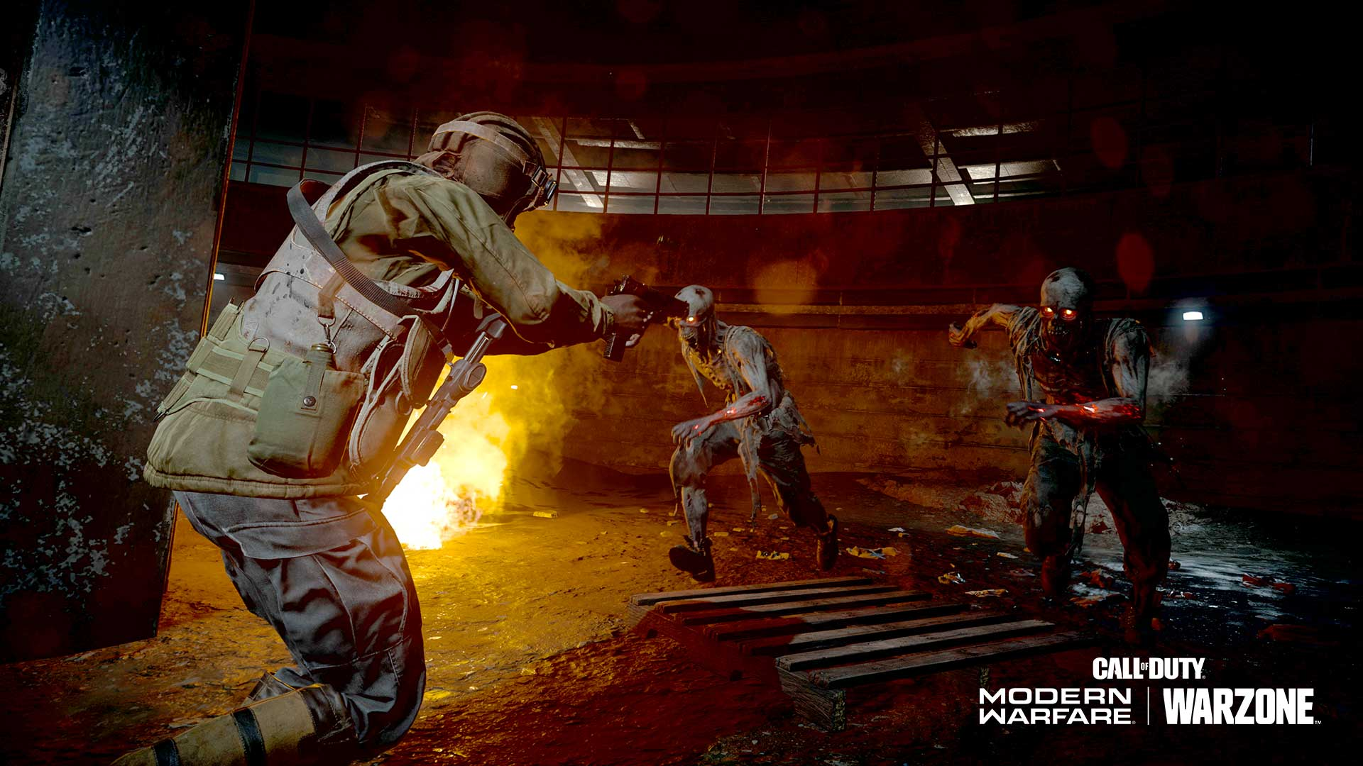 modern warfare, zombie royale