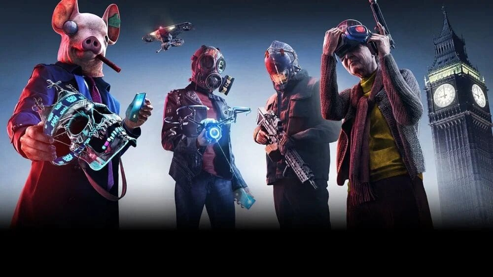 watch dogs legion, upgrade weapons
