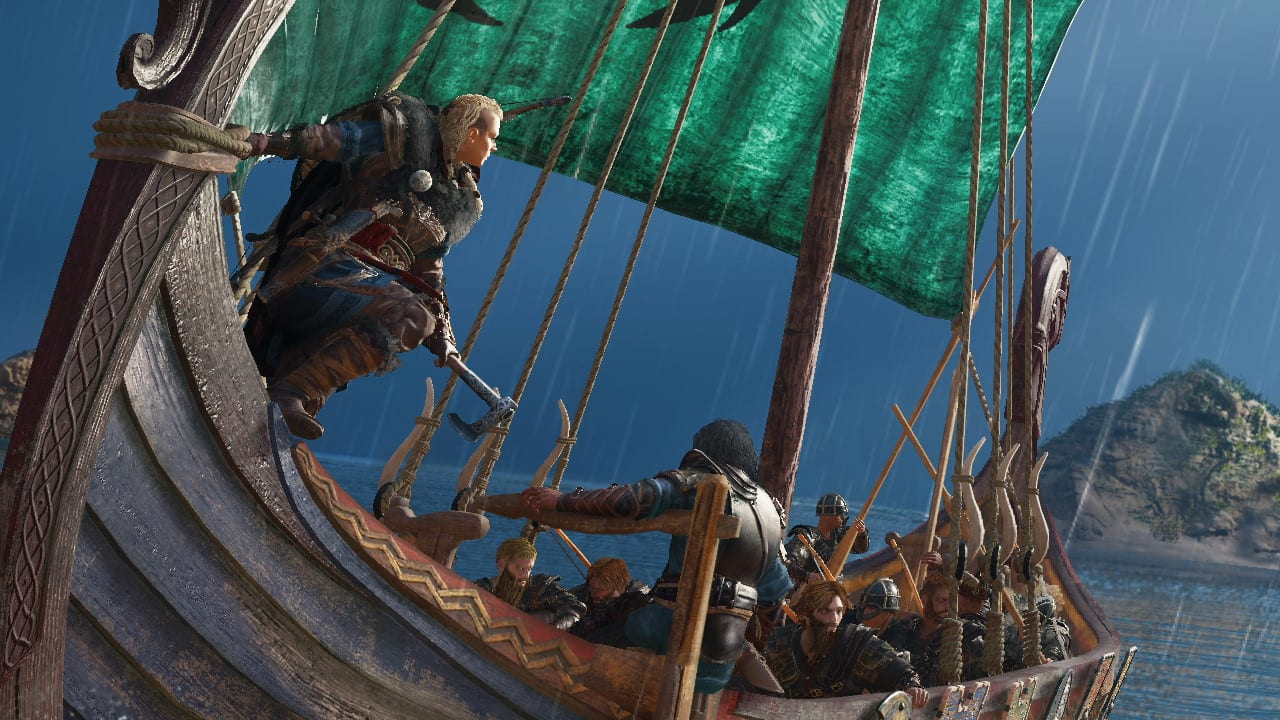 Assassin's creed valhalla viking cat raider