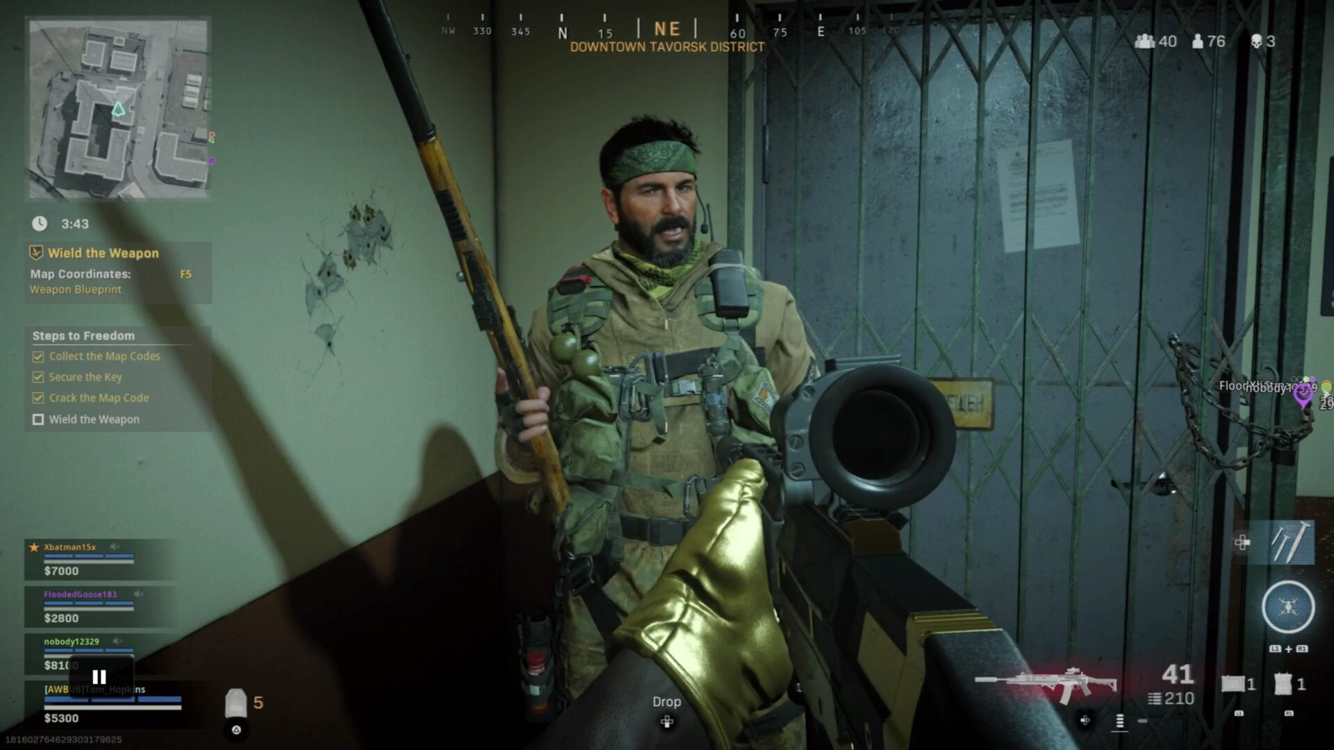 Call of Duty Broadband Record