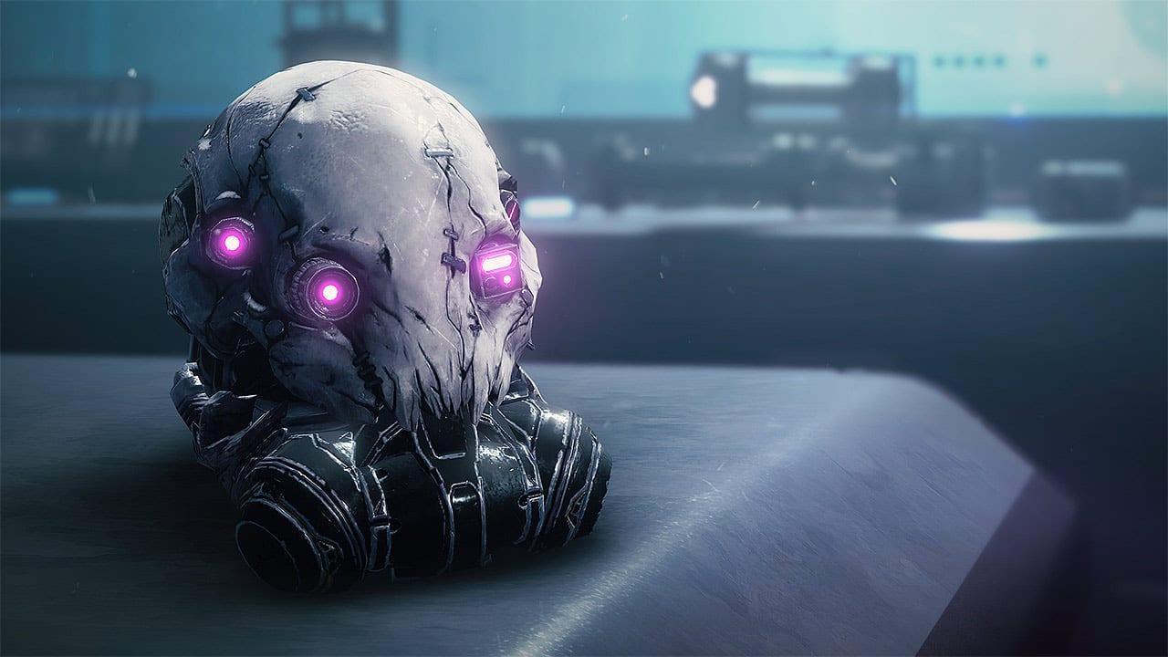 Mask of Bakris Exotic Hunter Helmet, Destiny 2 Beyond Light