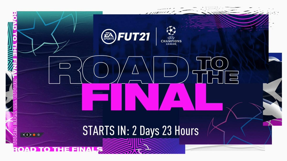 fifa 21, road to the final