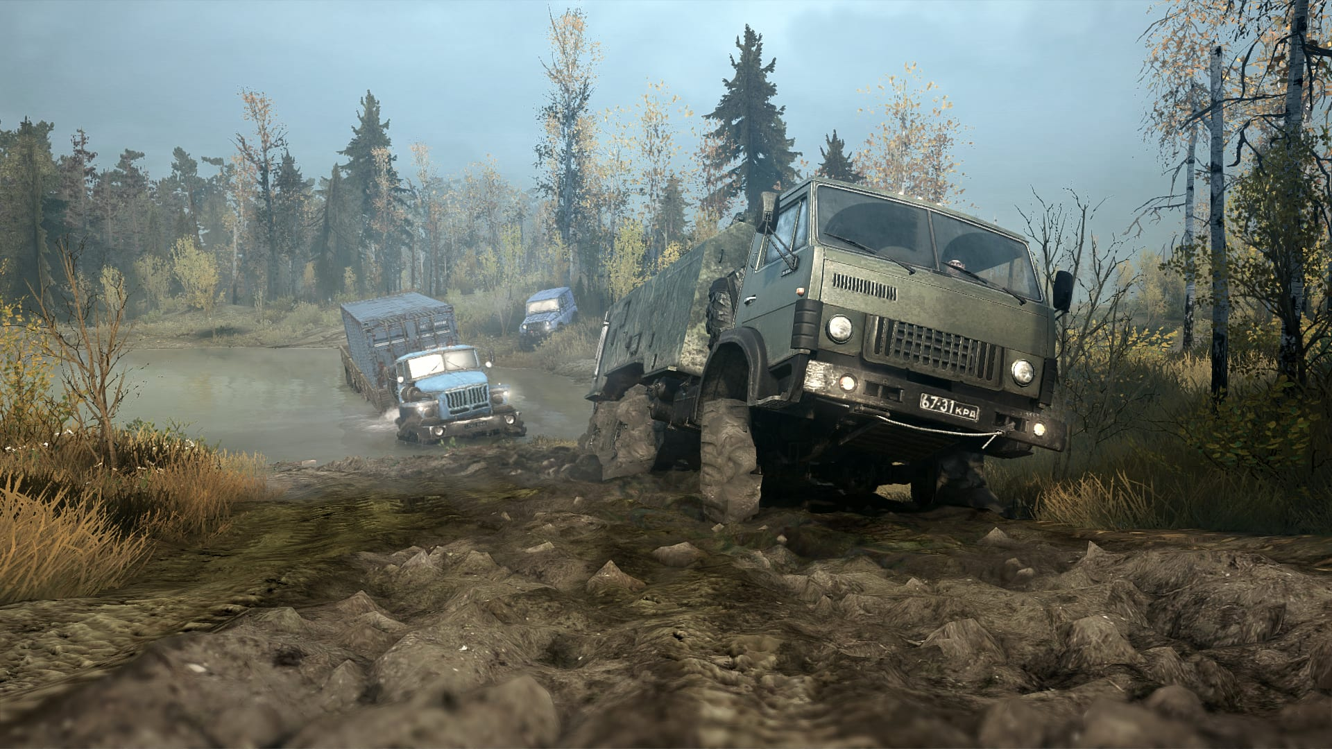 Epic Games Store Offers MudRunner Free for Limited Time