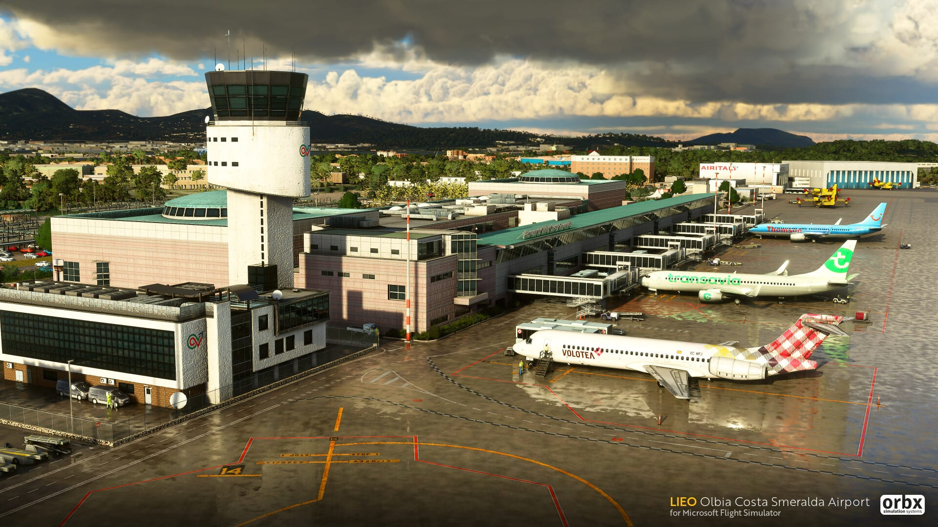 Microsoft Flight Simulator Olbia