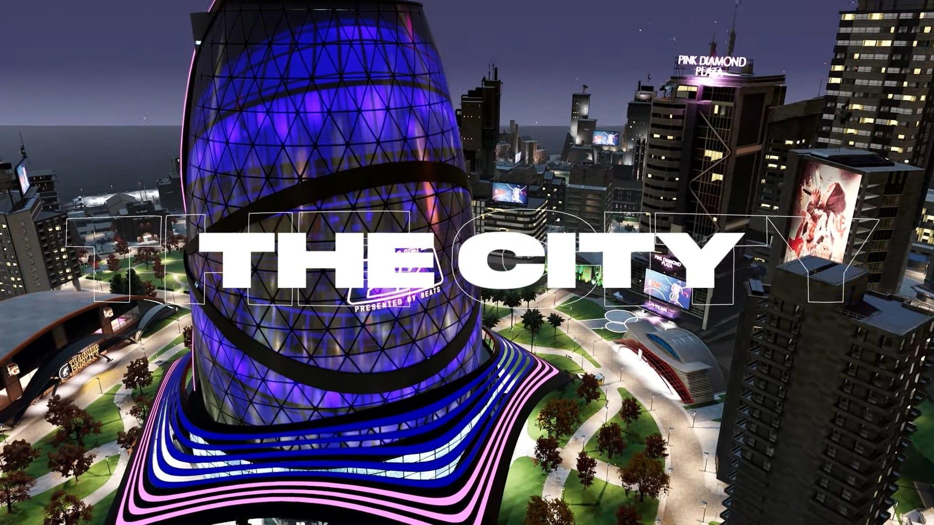 NBA 2K21 City
