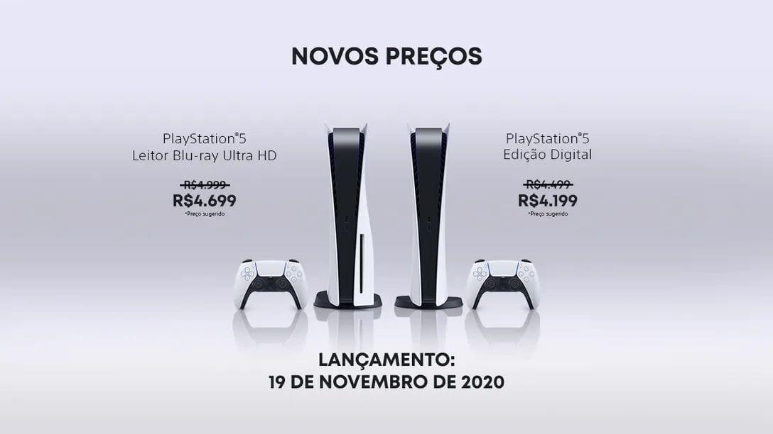 PS5 Brazil