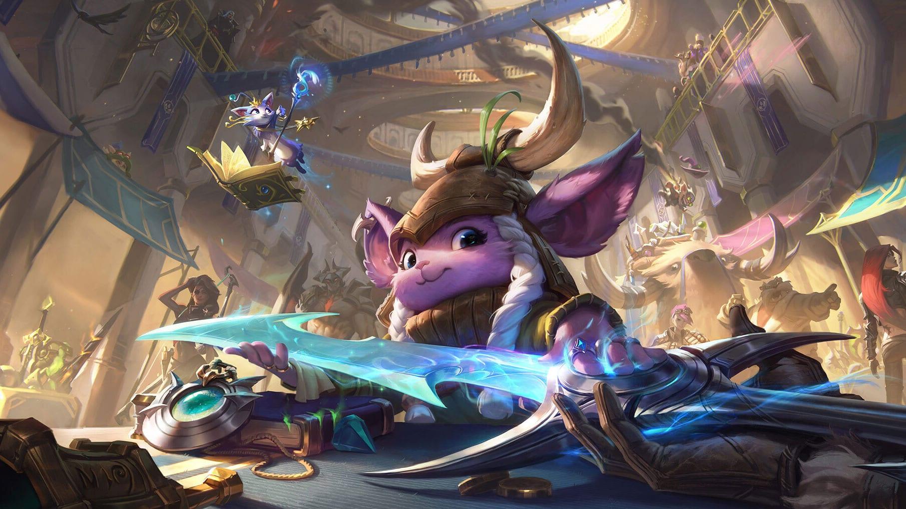 League of Legends Splash Art