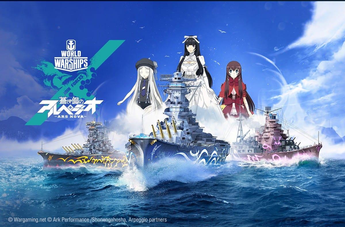 World of Warships Arpeggio