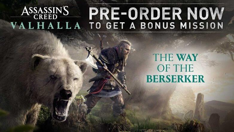 assassin's creed valhalla preorder dlc