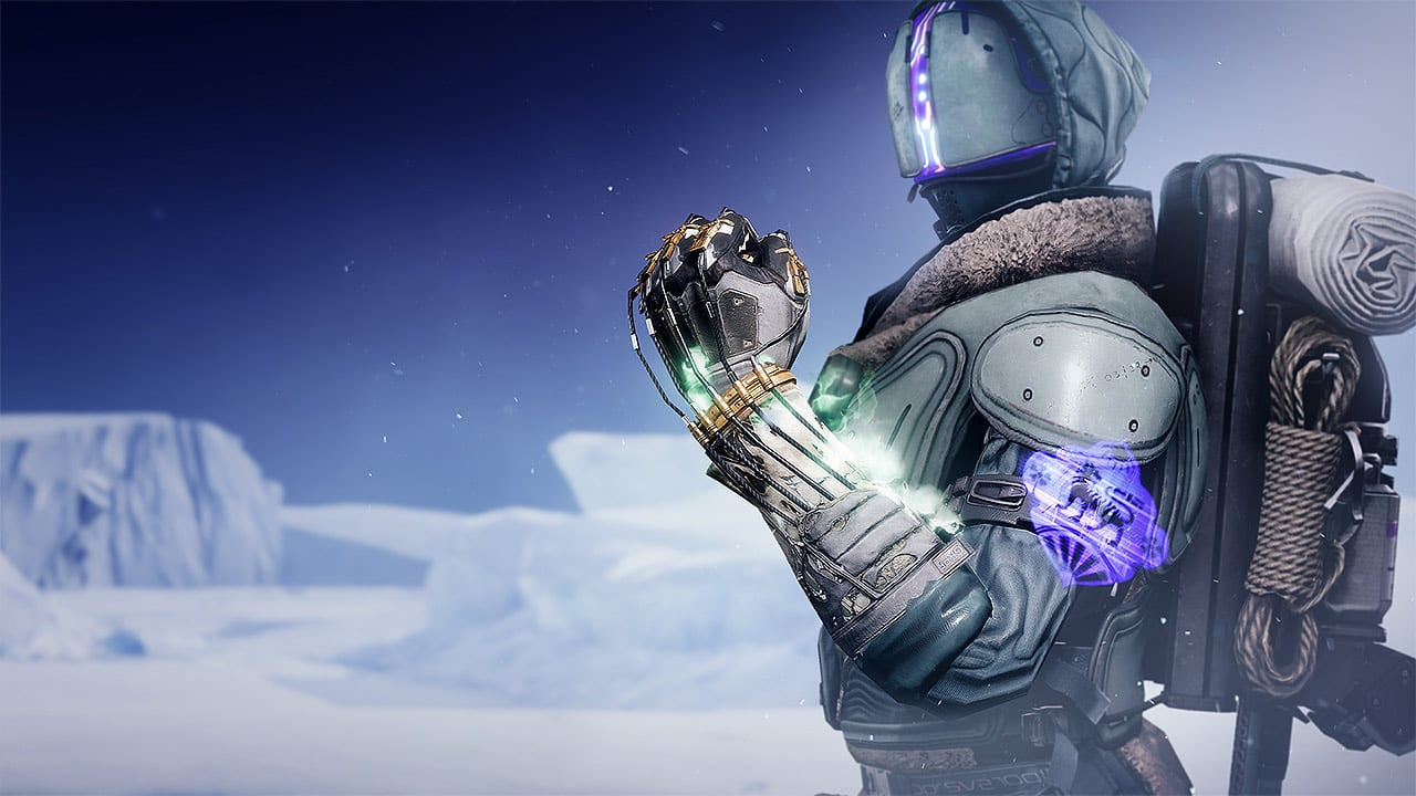 Destiny 2 Beyond Light, How to Get Necrotic Grip Exotic Warlock Gauntlets