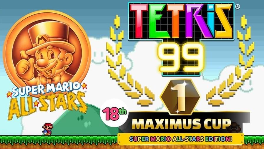 tetris 99 mario