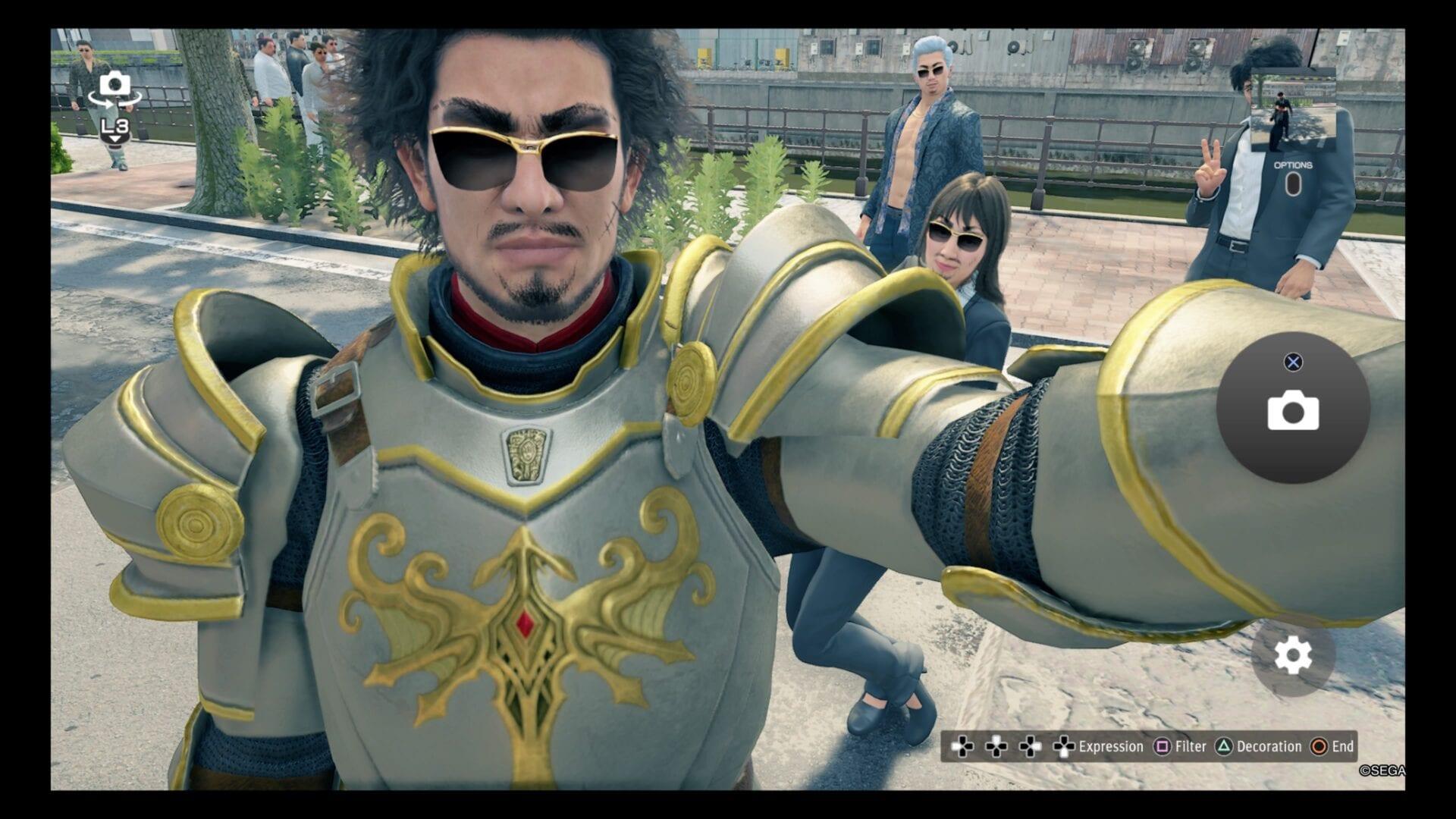 Yakuza Like a Dragon, How to Use Photo Mode