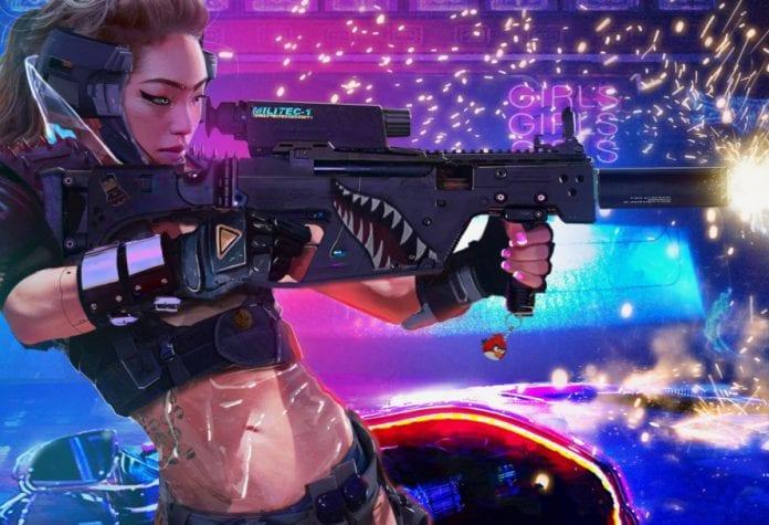 Cyberpunk 2077 weapon types