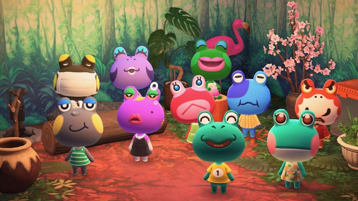 Animal Crossing frog quiz
