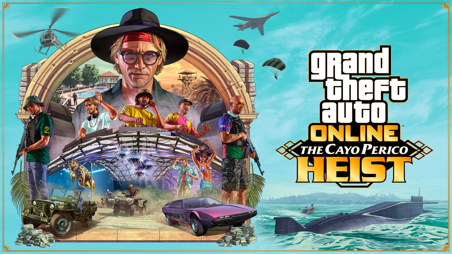 Grand Theft Auto Online Cayo Perico Heist Launch
