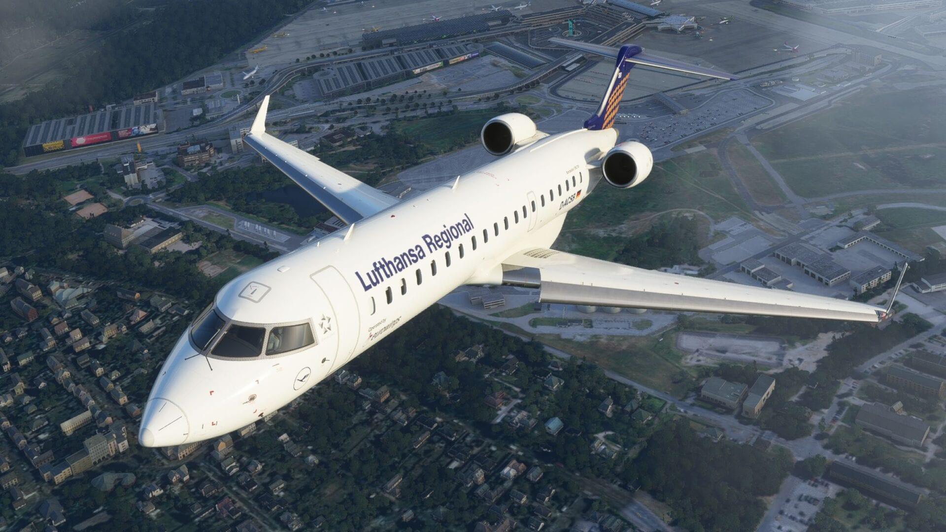 Microsoft Flight Simulator, Aerosoft CRJ
