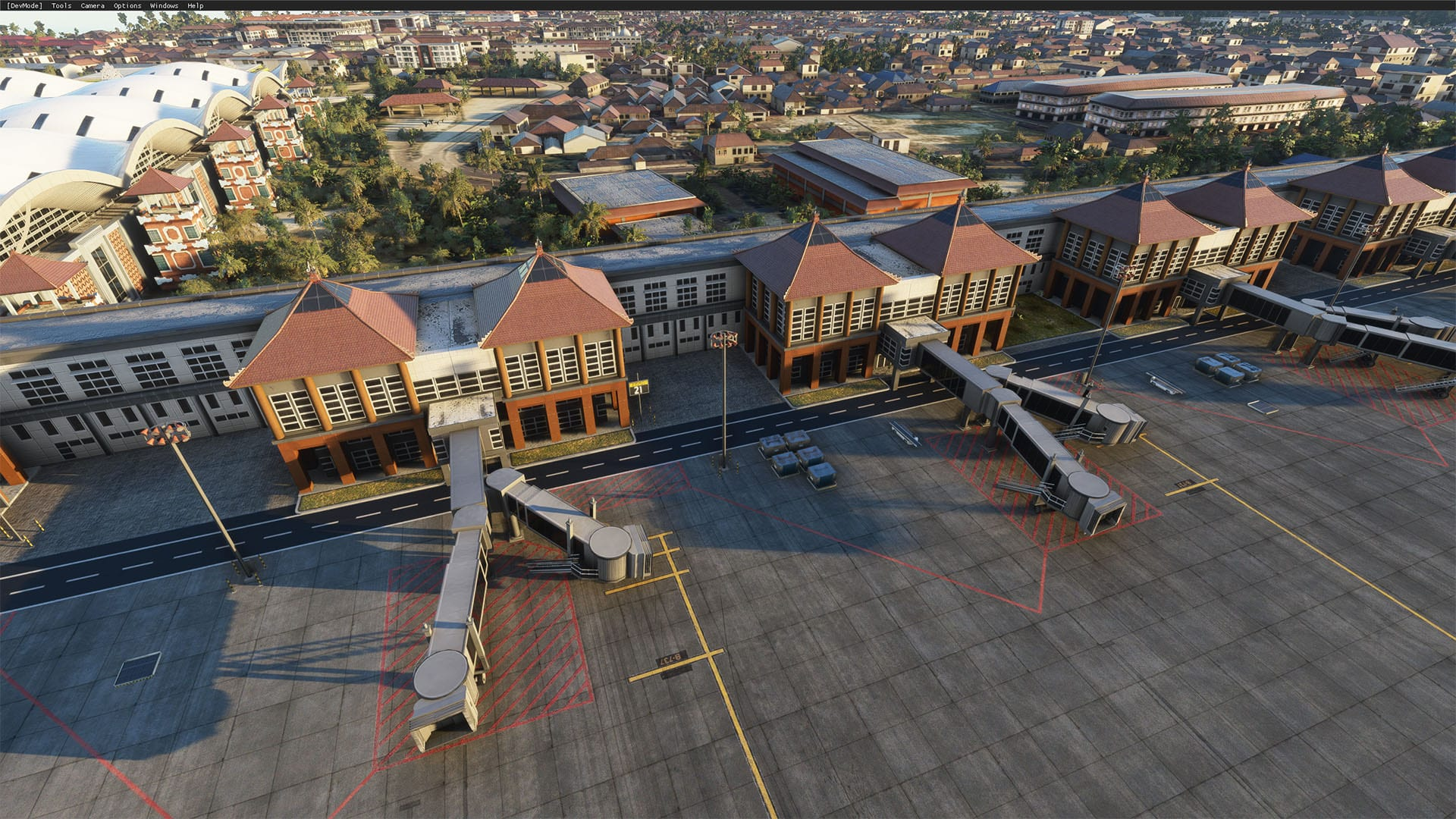 Microsoft Flight Simulator Bali Airport