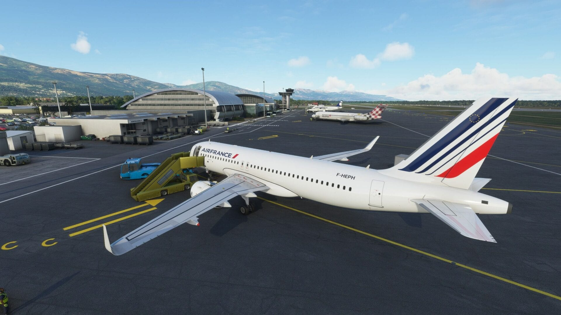 Microsoft Flight Simulator Bastia Poretta