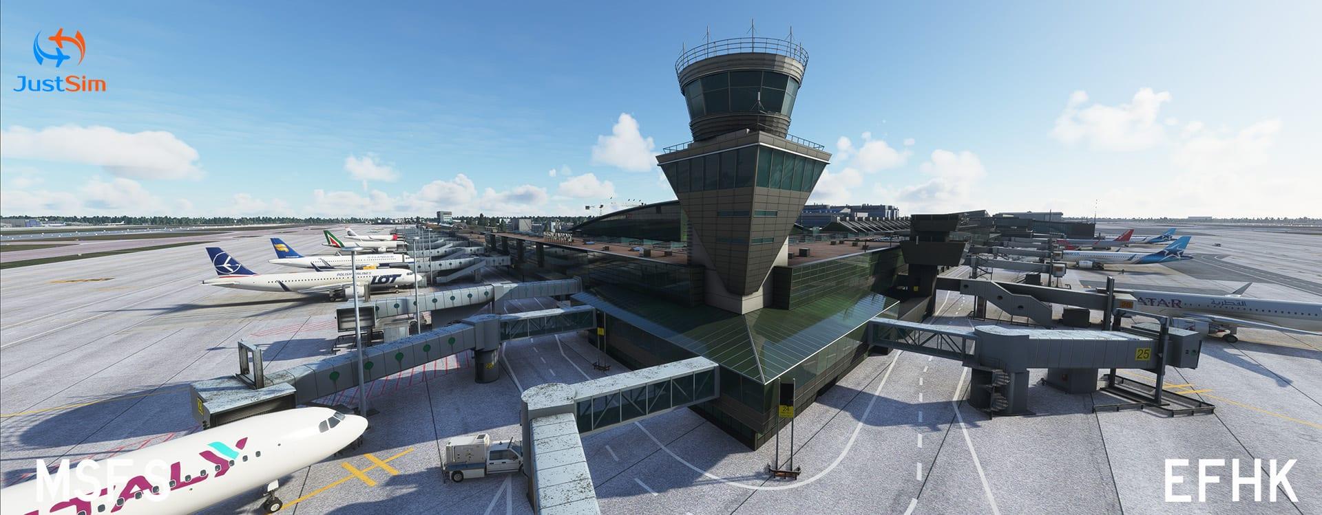 Microsoft Flight Simulator Helsinki
