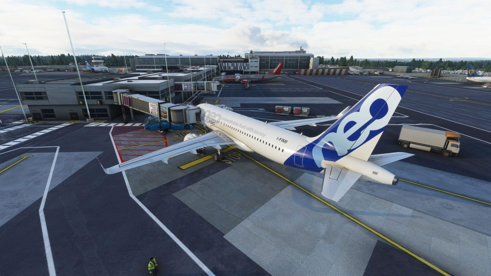 Microsoft Flight Simulator, Newcastle Airport