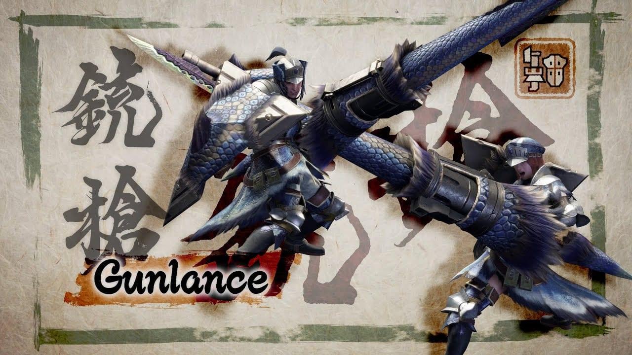 Monster Hunter Rise Gunlance