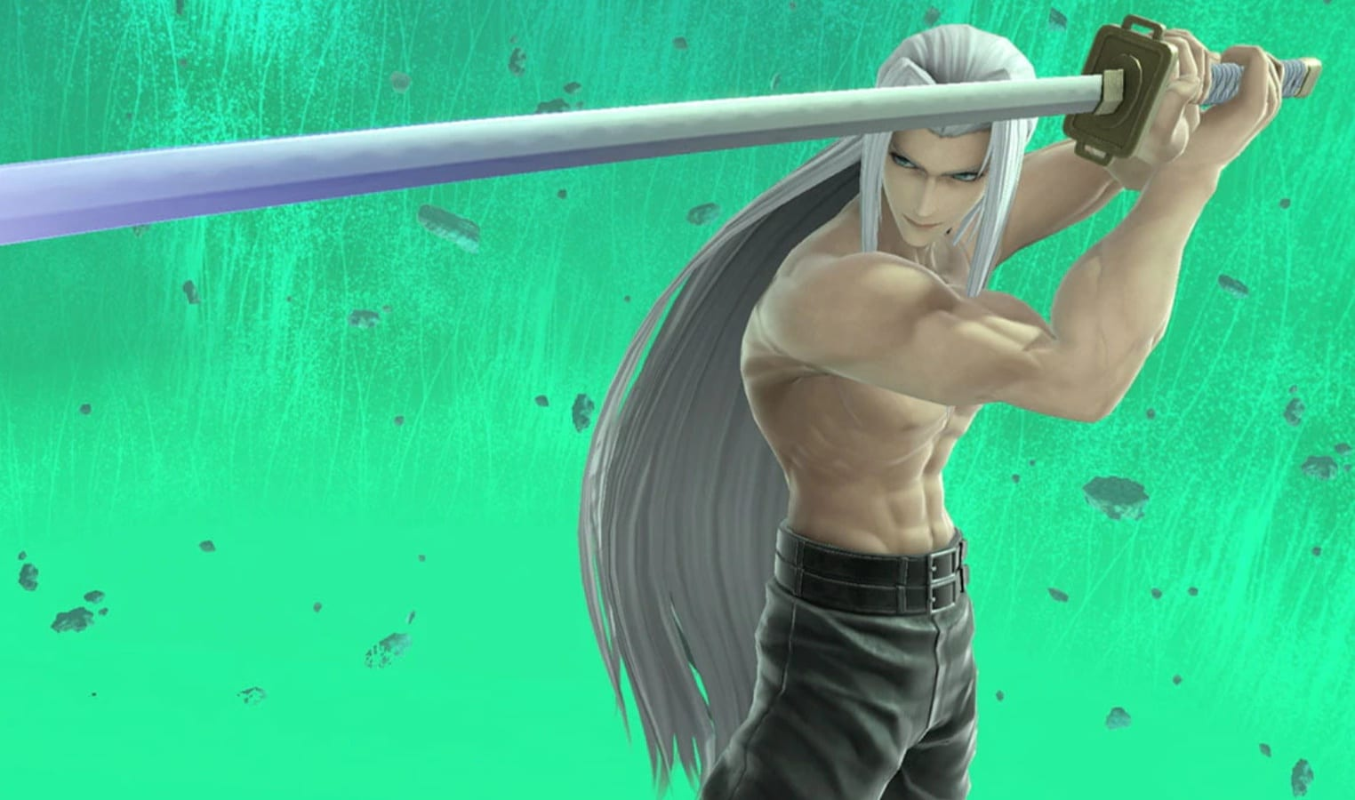 shirtless sephiroth super smash bros ultimate