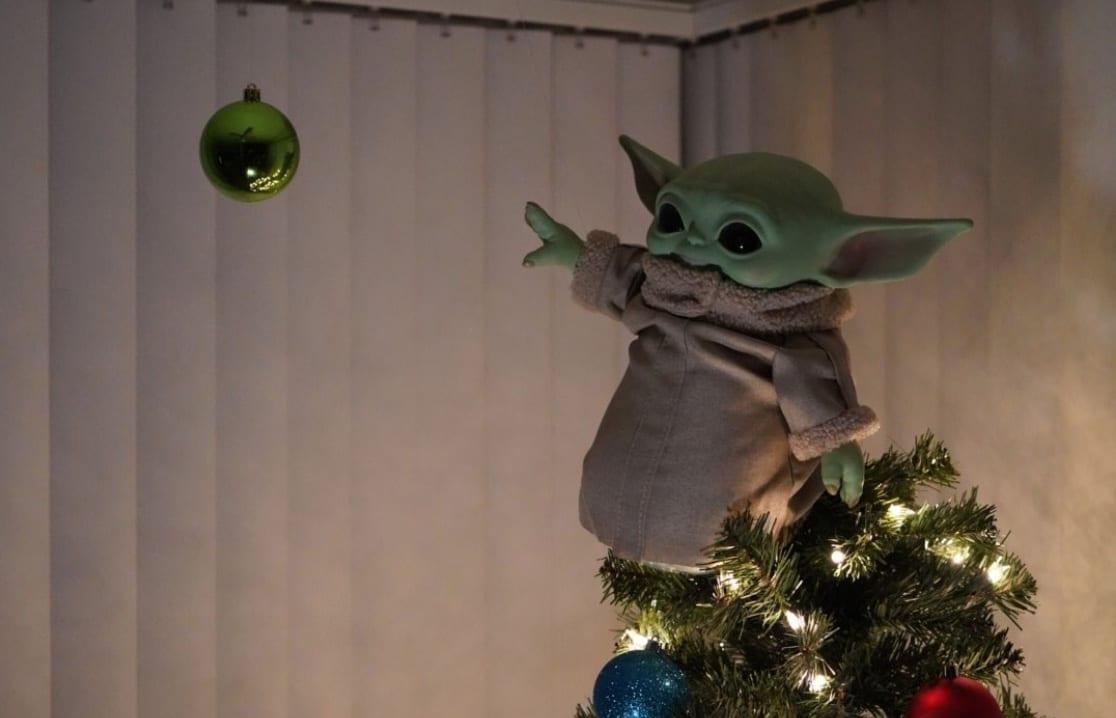 baby yoda tree topper, grogu, the child