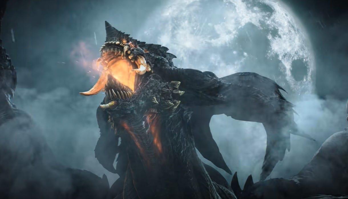 demon's souls dragon god
