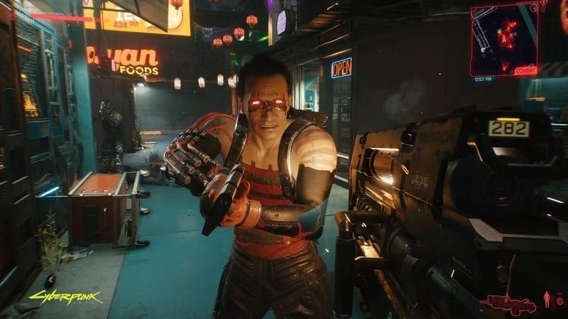 cyberpunk 2077, Sinnerman