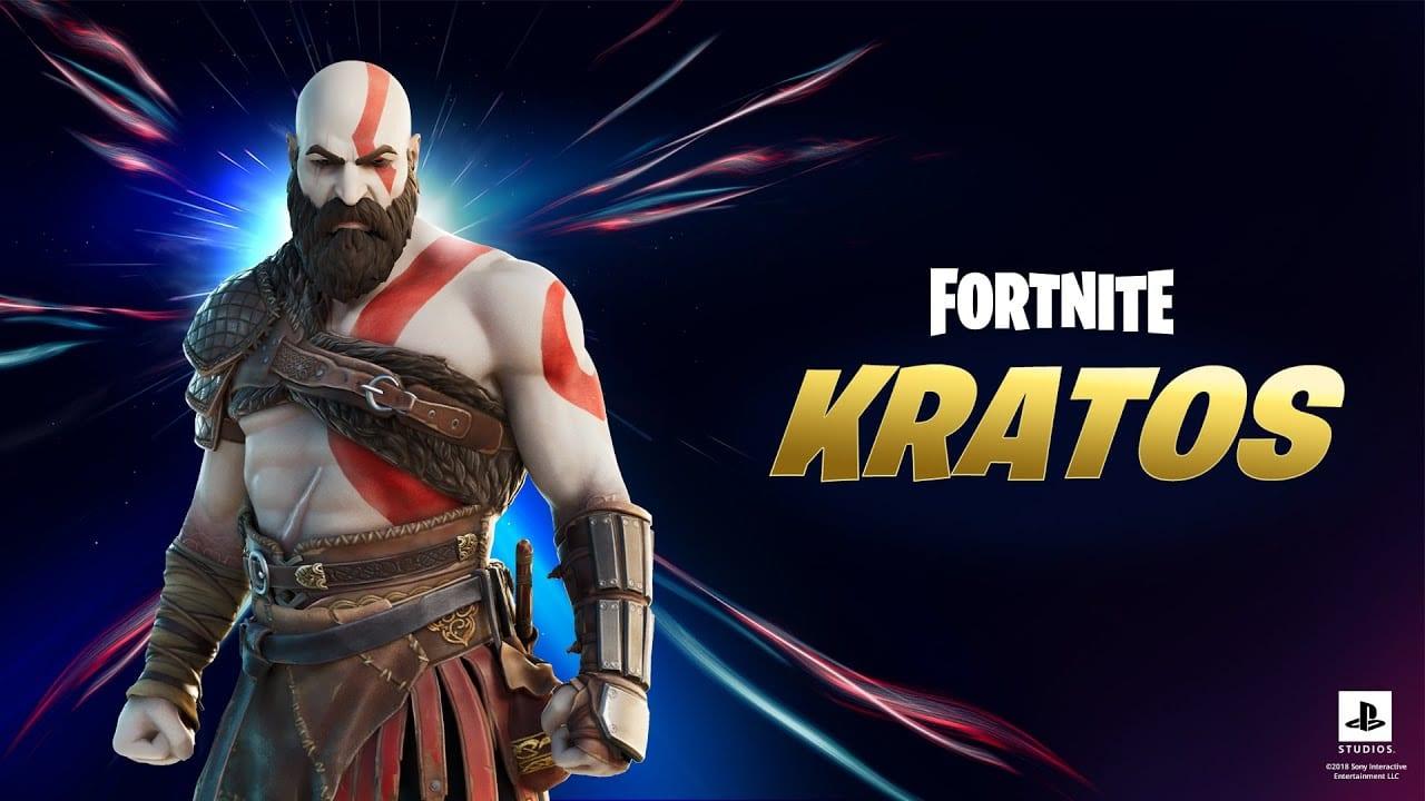 god of war, fortnite, kratos
