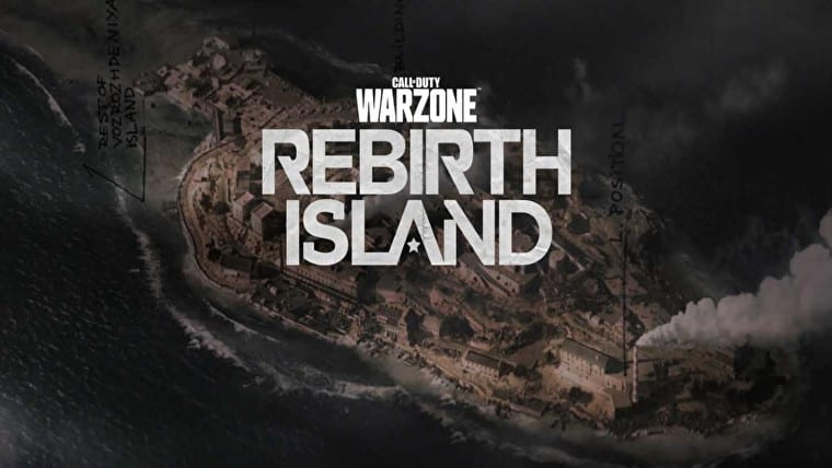 warzone rebirth island map
