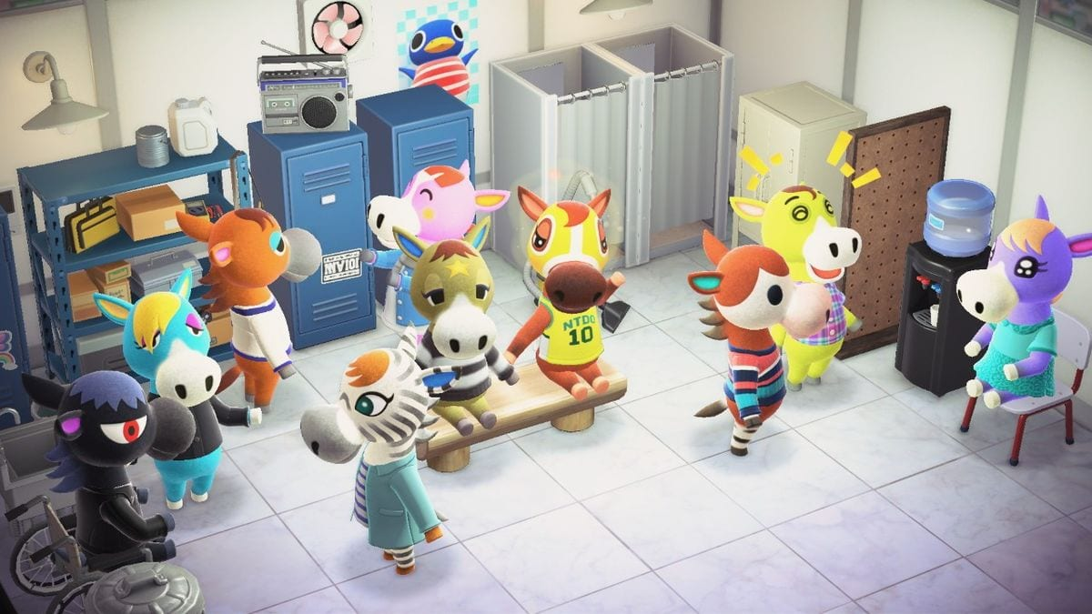 Animal Crossing horse quiz