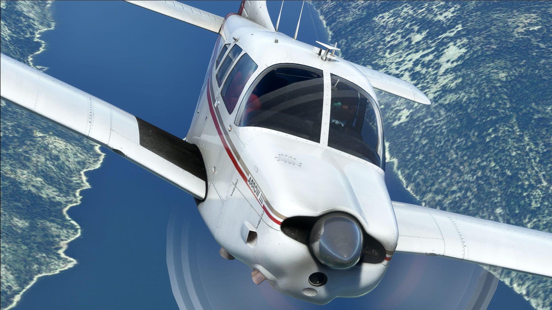 Microsoft Flight Simulator Arrow III