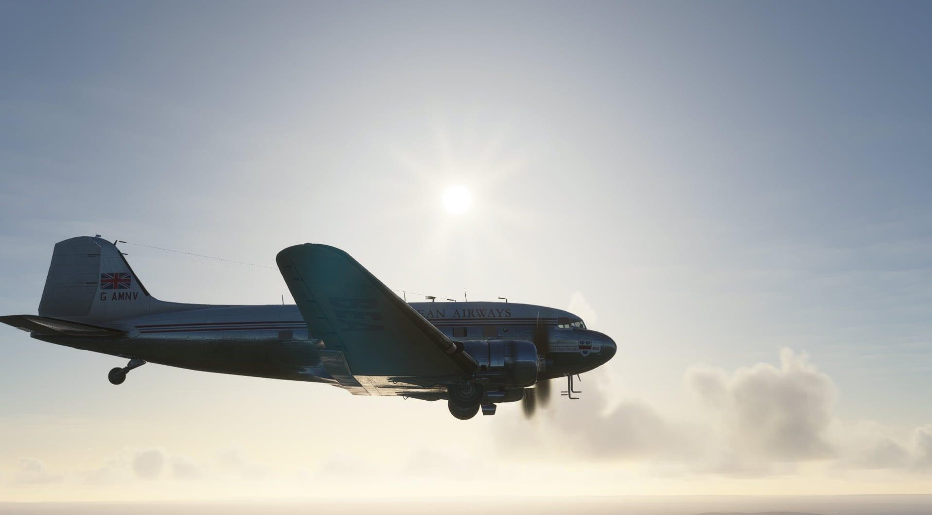 Microsoft Flight Simulator Douglas DC-3 Revealed by ...