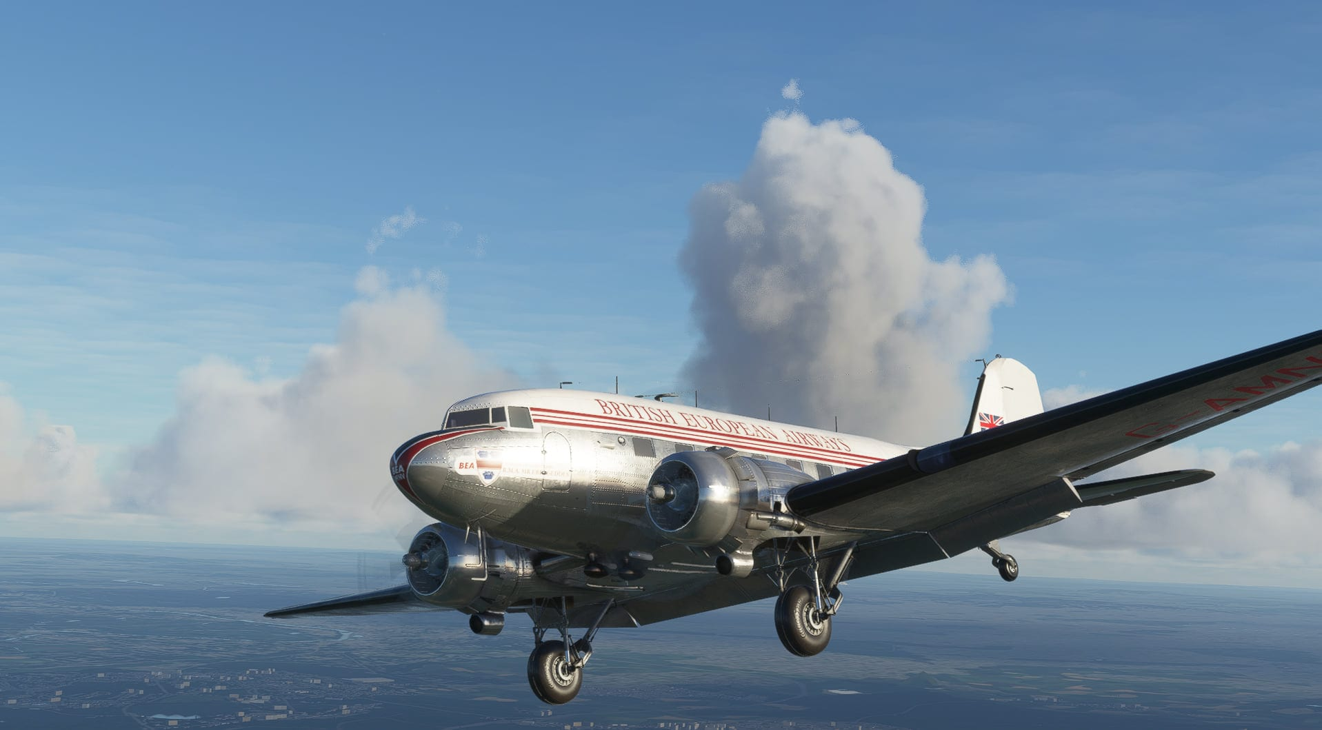 Microsoft Flight Simulator DC-3