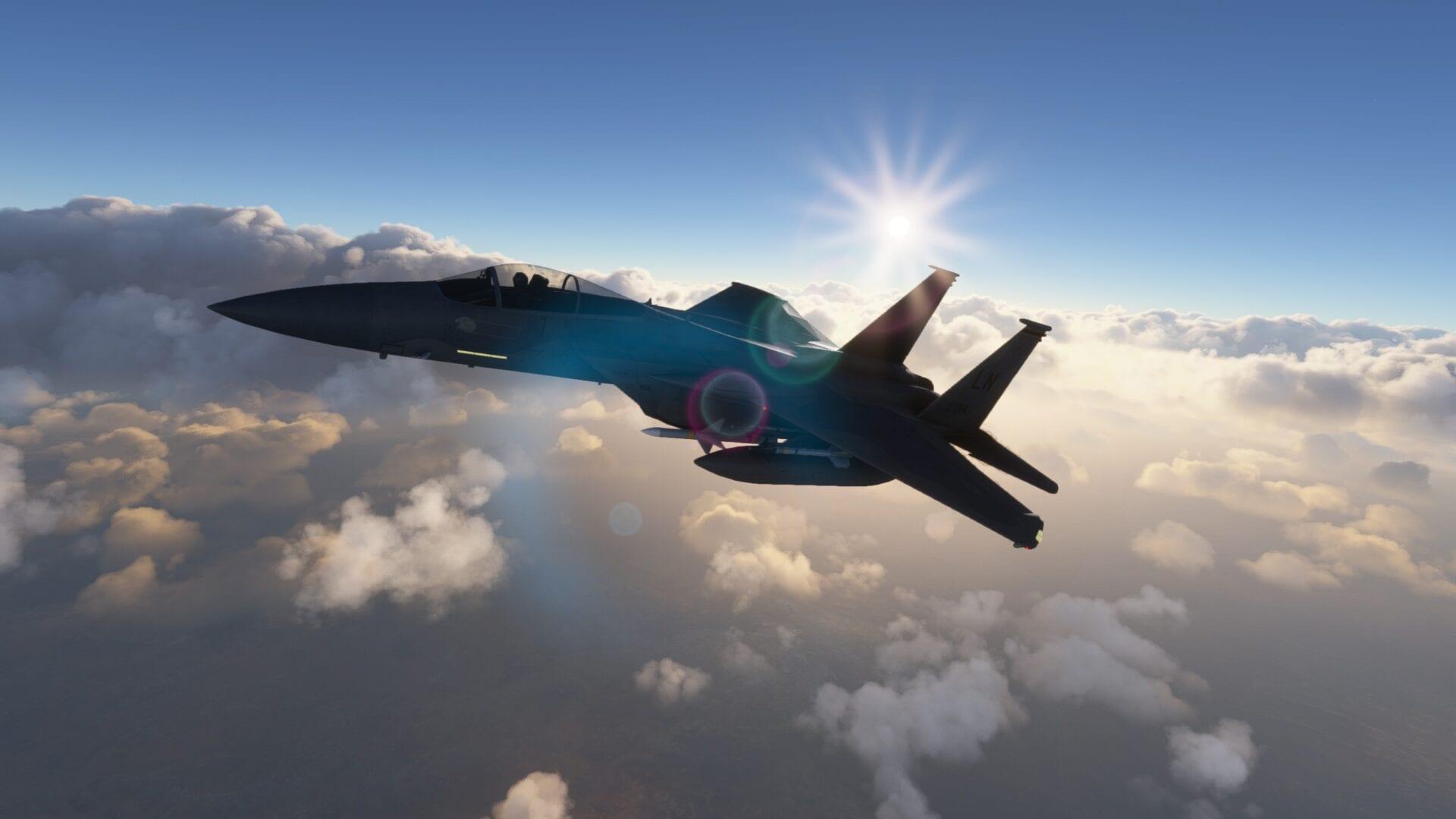 Microsoft Flight Simulator F15