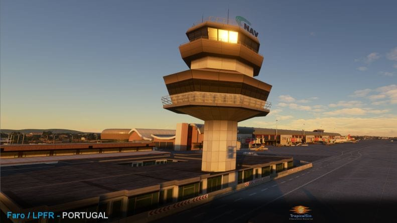 Microsoft Flight Simulator Faro