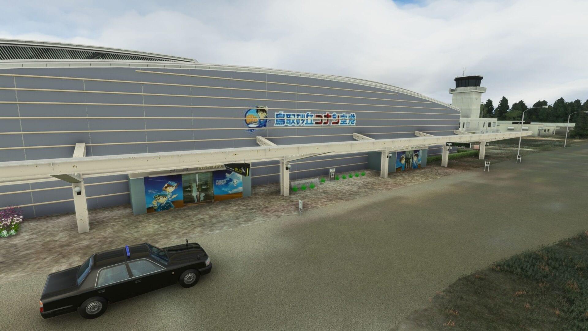 Microsoft Flight Simulator Tottori Airport Conan