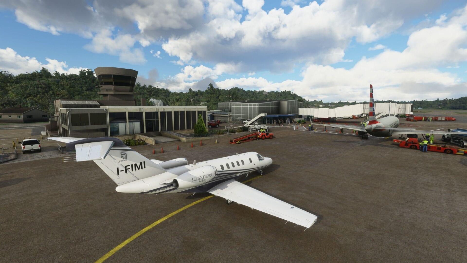 Microsoft Flight Simulator Tweed New Haven