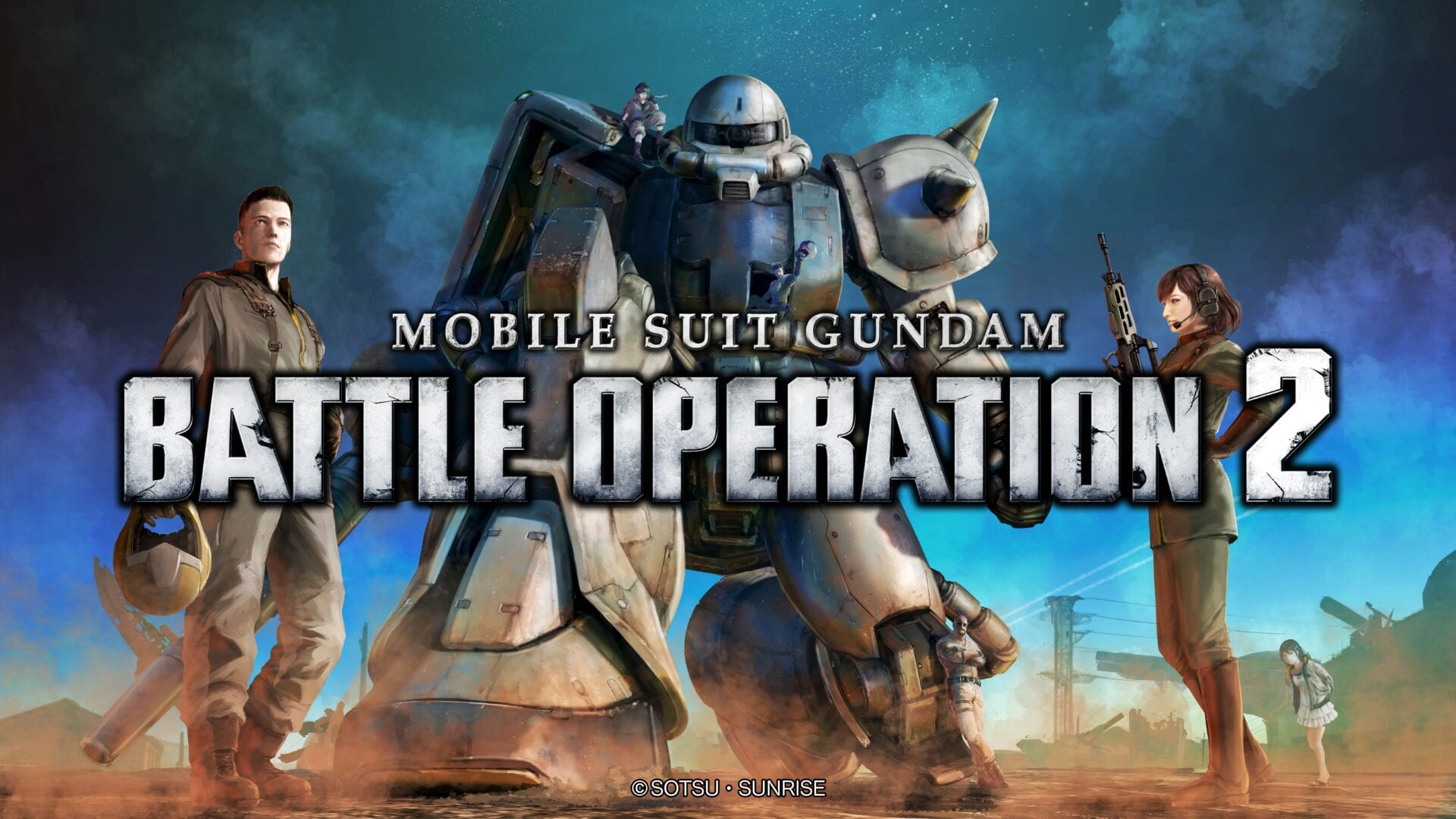 Mobile Suit Gundam Battle Opeation 2 PS5