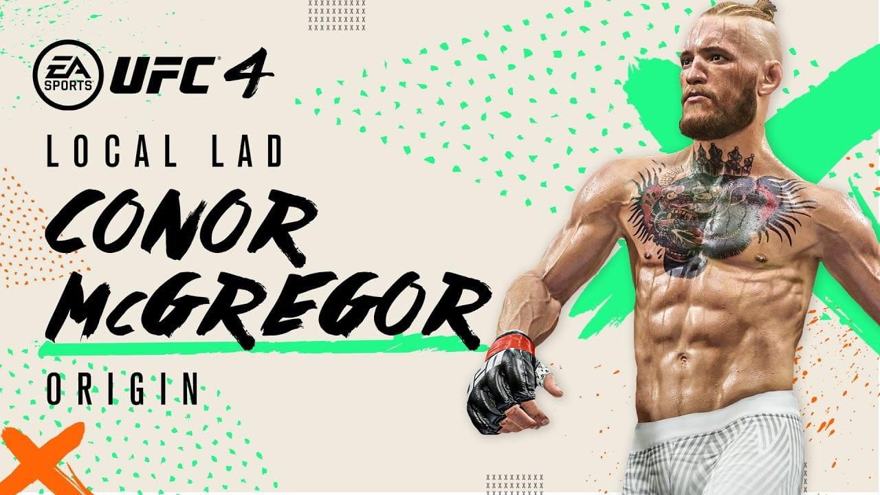 conor mcgregor, UFC4