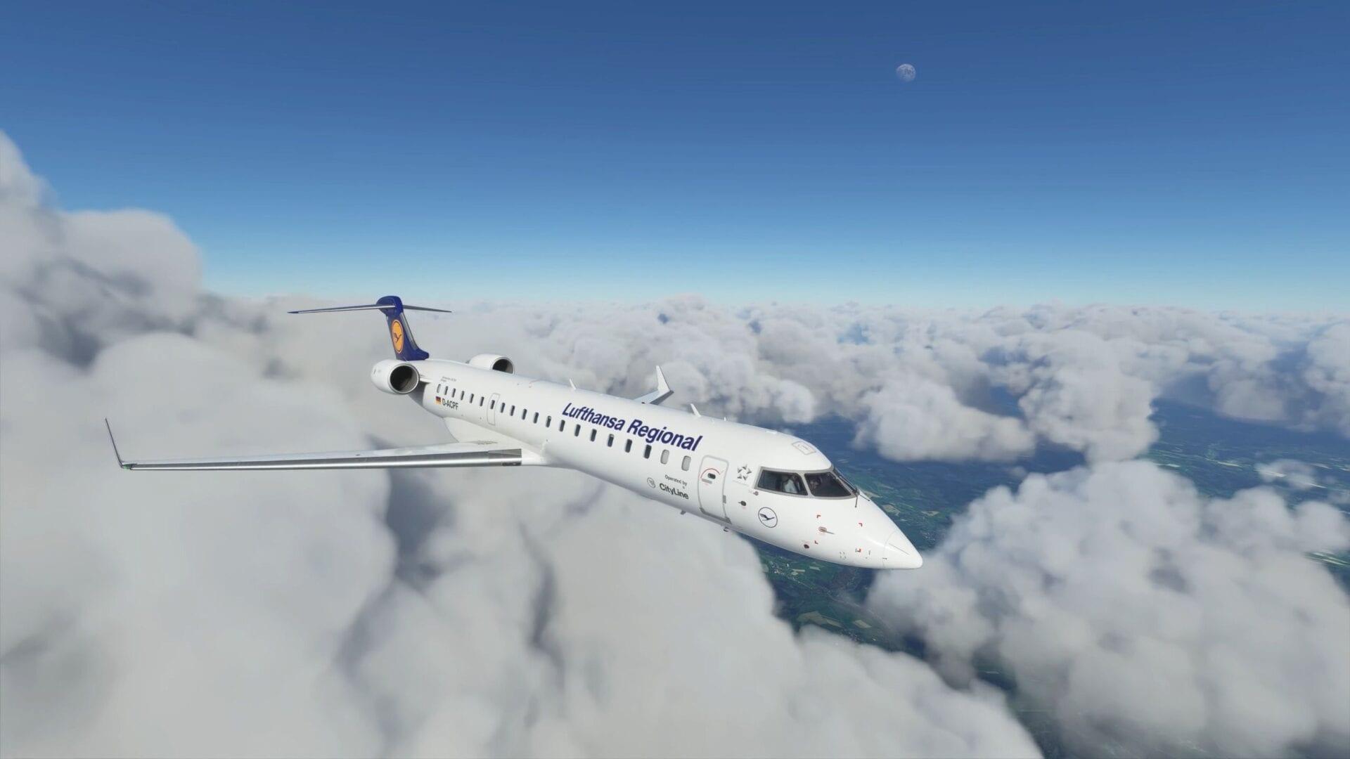 Microsoft Flight Simulator Aerosoft CRJ