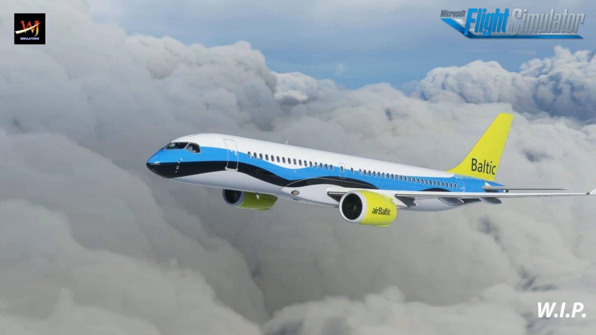 Microsoft Flight Simulator Airbus A220