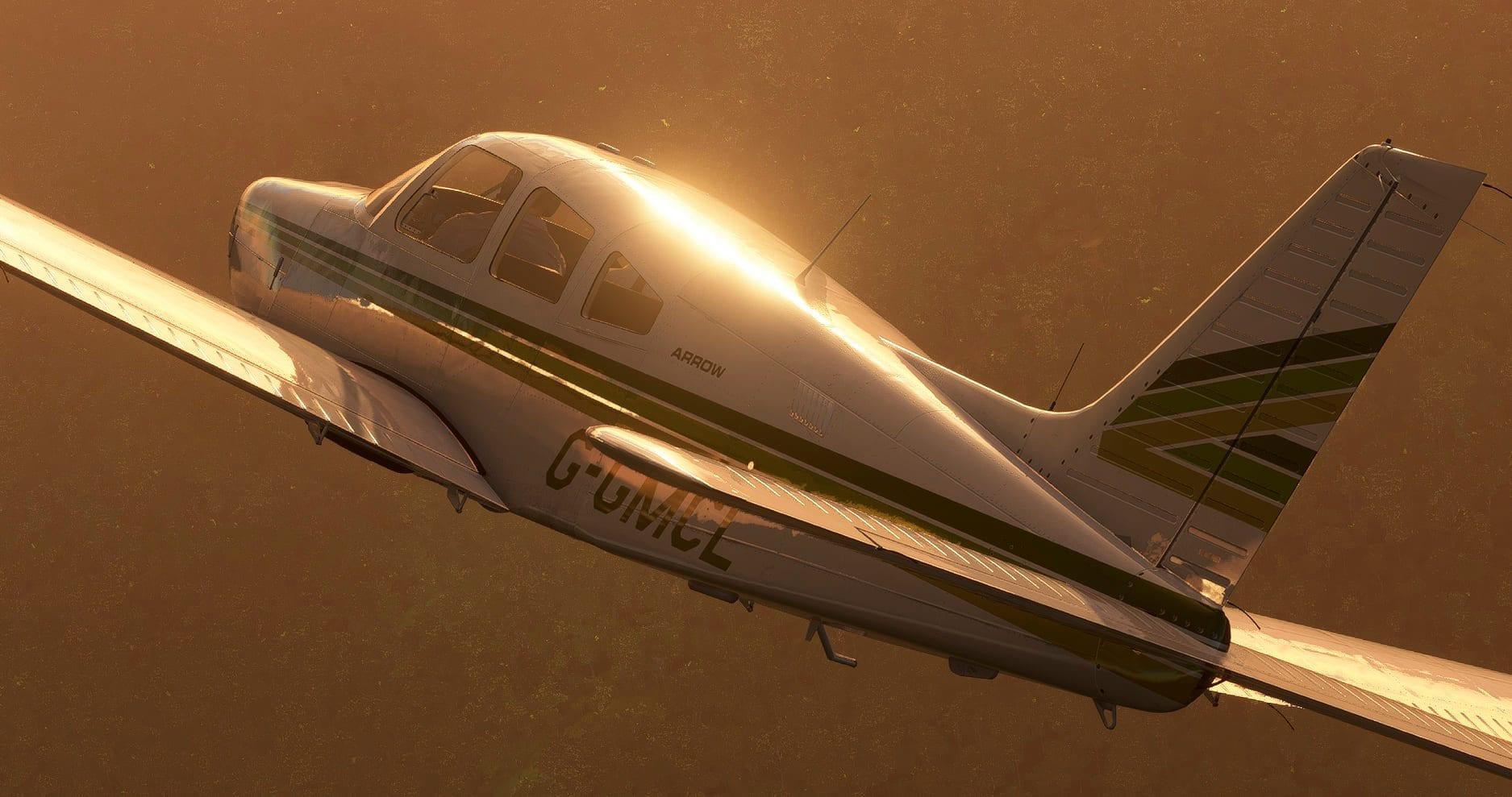 Microsoft Flight Simulator - Piper PA-28 Arrow III ...