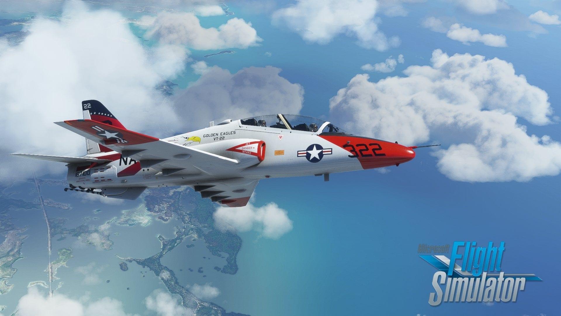 Microsoft Flight Simulator Goshawk