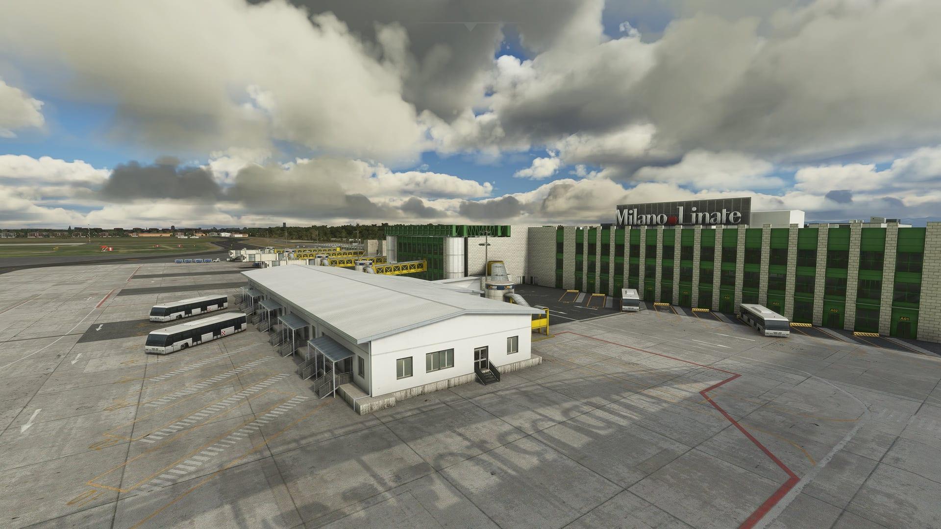Microsoft Flight Simulator Linate