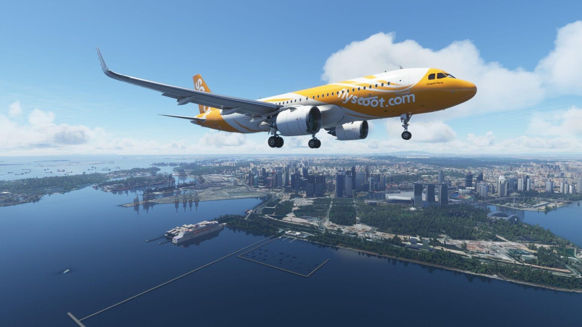Microsoft Flight Simulator Singapore Review